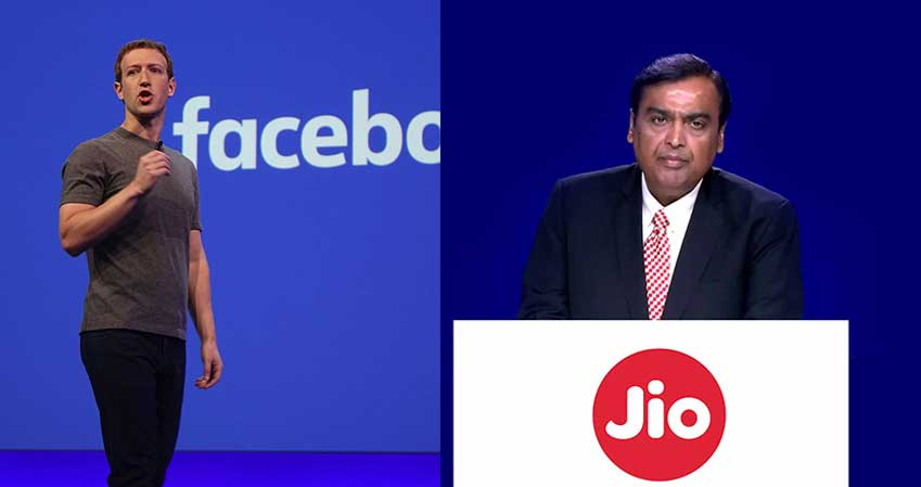 Facebook to invest Rs 43,574 crore in Mukesh Ambani's Reliance Jio for 10% equity stake