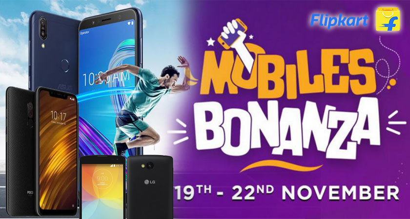 Flipkart Mobile Bonanza sale is finally here to offer great deals on smartphones