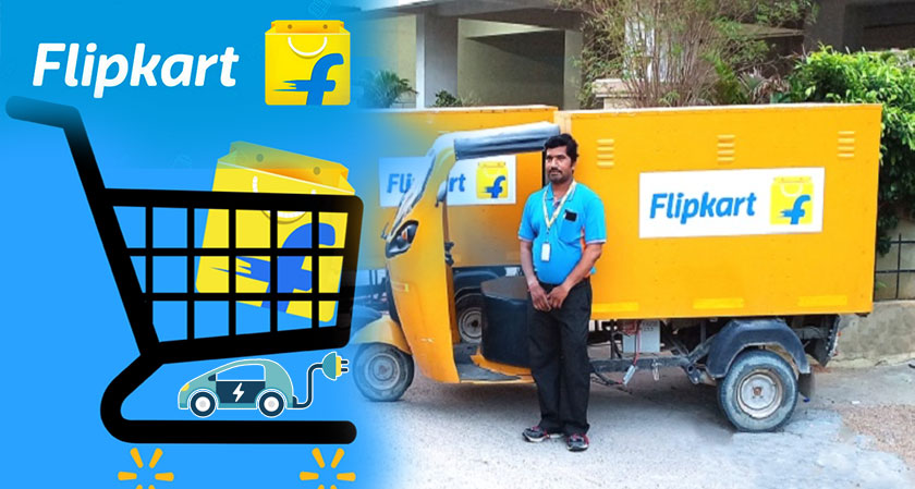 Flipkart Goes Green: Plans to Replace Delivery Vans with Electric Vehicles by March 2020