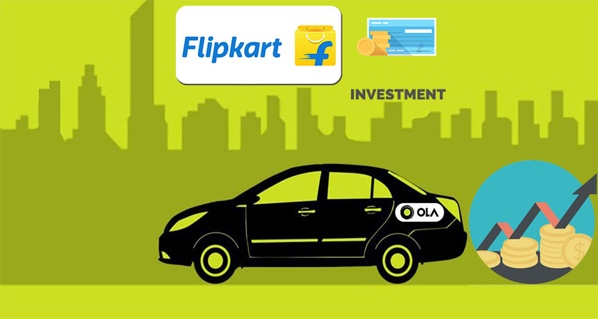 Flipkart Co-founder Pumps Rs. 650 Crore into Ola