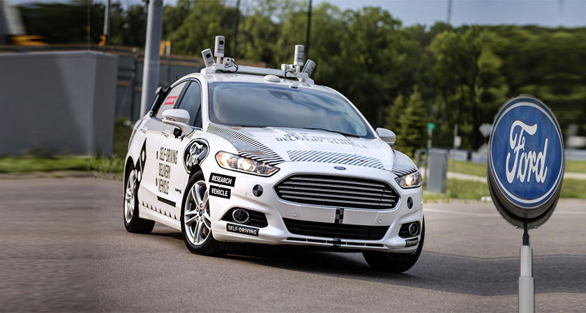 Ford commits $4 billion to develop autonomous vehicles