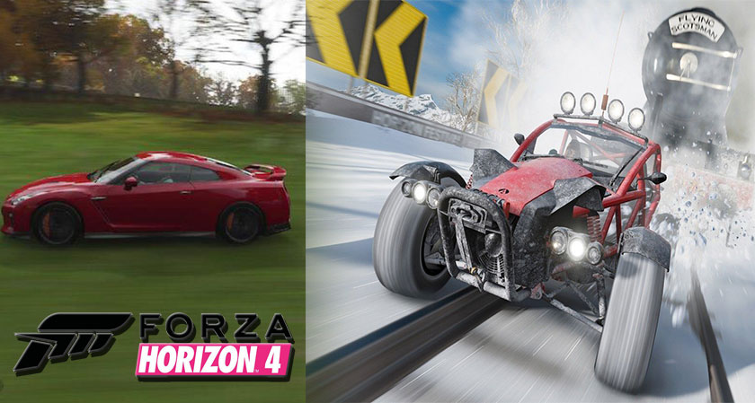 Forza Horizon 4: The New Generation NFS Most Wanted
