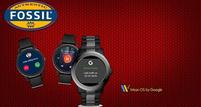 Fossil Rolls out Smartwatches, Powered by Google