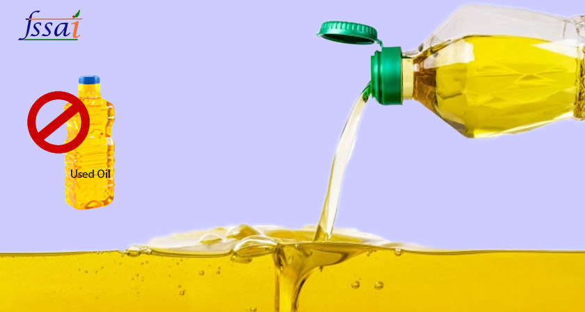 Restaurants are strictly banned from re-using cooking oil