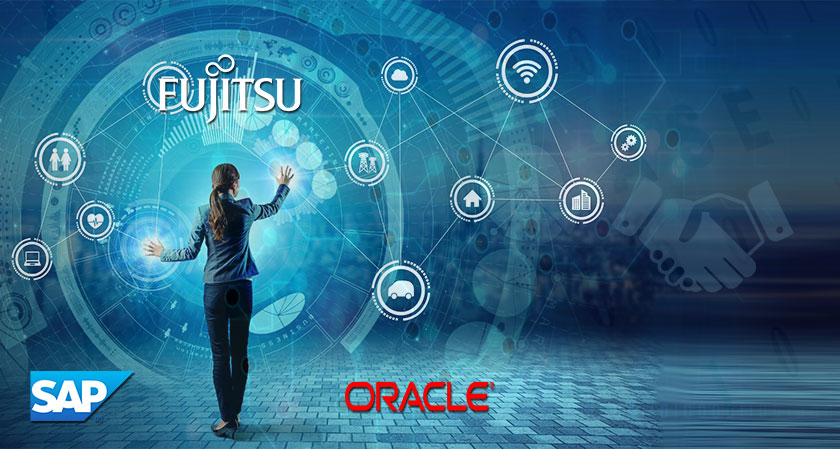 Fujitsu Partners Oracle and SAP: To Accelerate Cloud Transformation and Leverage Multi-Cloud Solution
