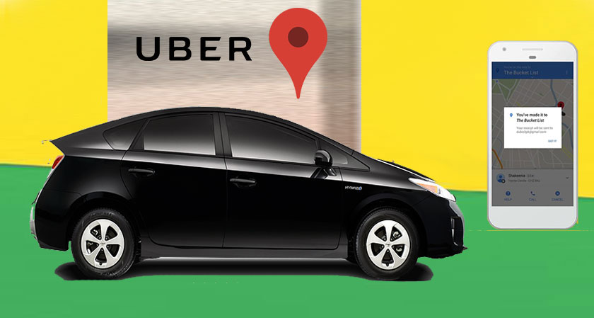 Uber Ride Bookings Now Solely With Uber App Instead Of Google Maps