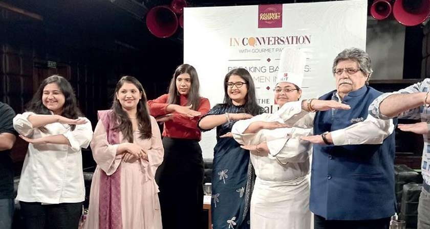Gourmet Passport by Dineout's event was held to celebrate women chefs