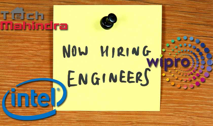 Tech Mahindra, Intel, Wipro, and other multinational companies are hiring engineers amid global pandemic