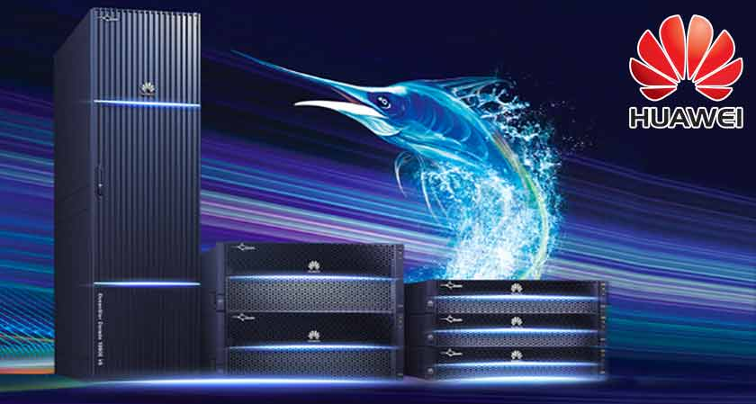 Huawei introduces a new kind of high-performance storage array