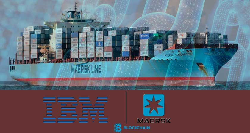 IBM And Maersk Rolls Out a Blockchain-Based Shipping Platform