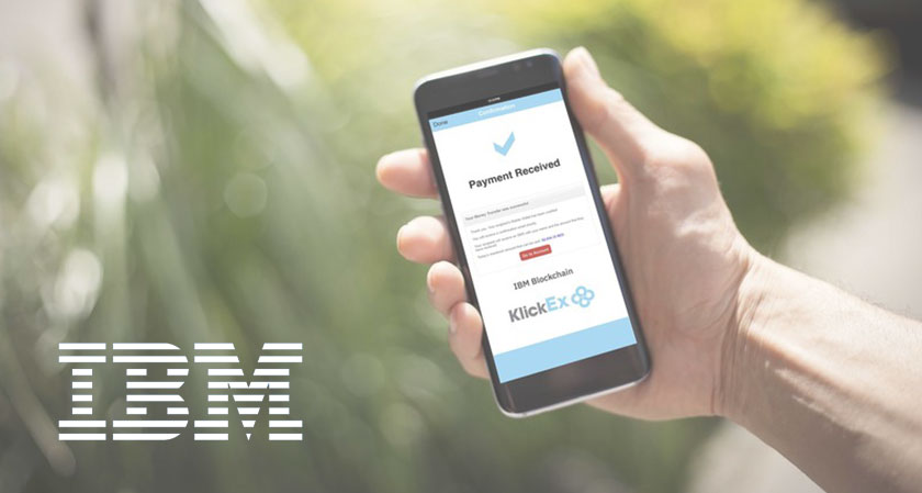 IBM issues a cross border system of payment