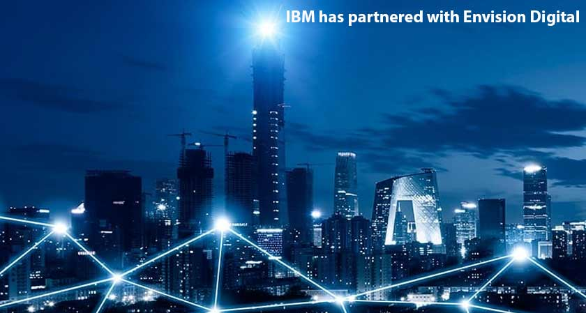 IBM has partnered with Envision Digital to create solutions to promote environmental sustainability
