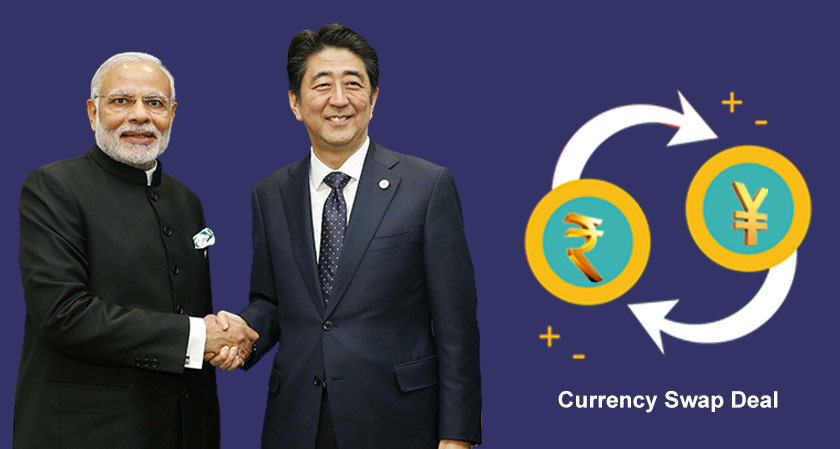 India and Japan Sign $75billion Currency Swap Deal