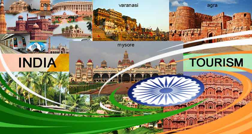 India becomes the most favorite and most visited tourist spot in South Asia