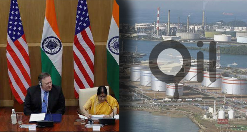 India cuts down on Iranian oil imports, hopes for a waiver from the US