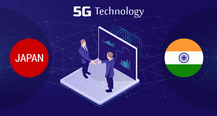 India and Japan now agrees to join forces on 5G technology