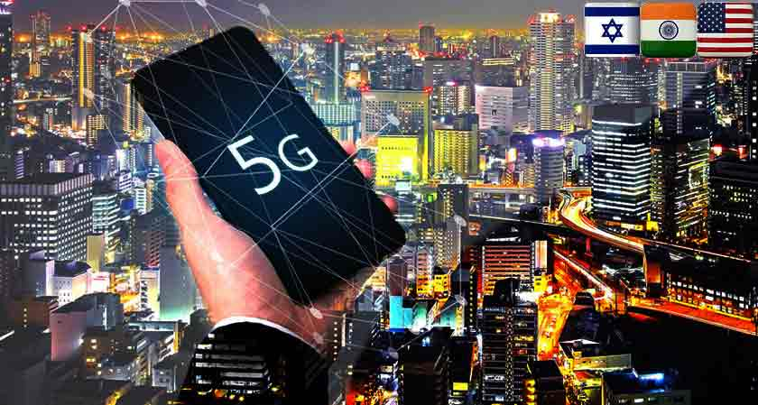 India, US, Israel collaborate to develop secure 5G communication network