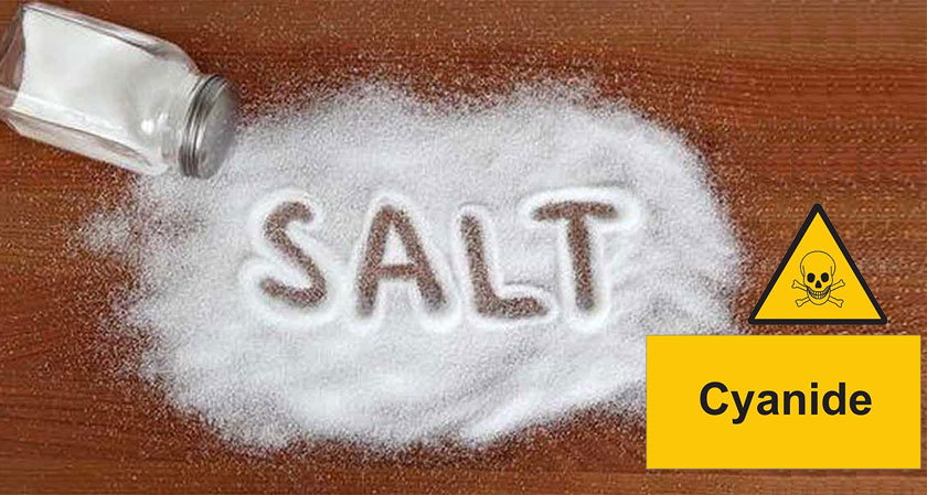 US Lab Report states that the level of cyanide in Indian Salt Brands is alarming