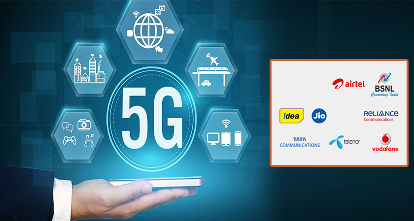 Global Telecom companies Battle for 5G in India