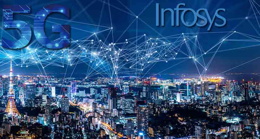 Industrial IoT growth of Infosys is positive due to 5G and engineering services.
