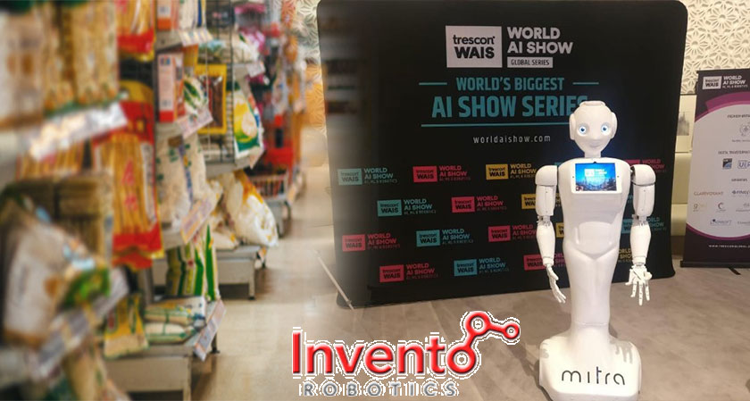 InventoDevelops a Robot for Assisting Customers in Grocery Stores