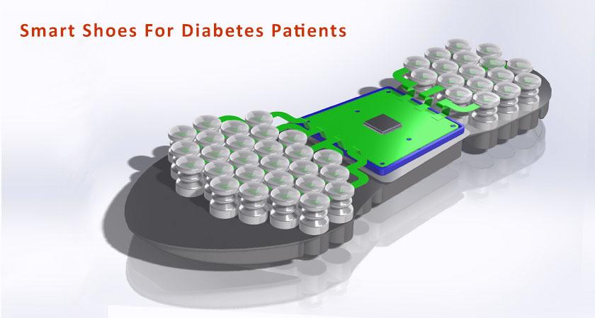 Iranian Scientists design smart shoes for diabetes patients