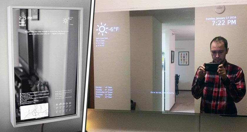 Is it a Mirror? Is it a Tablet? Brace yourselves for the future of Smart Screens