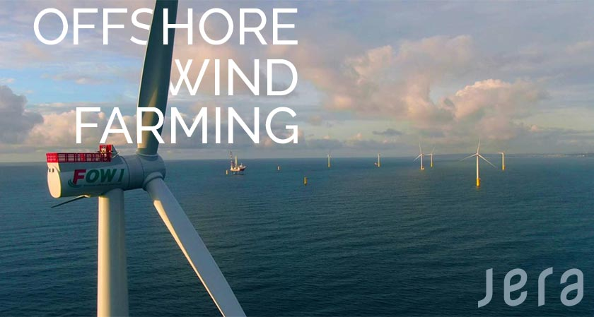JERA's plans took a leap by completing its first commercial offshore wind farm in Taiwan