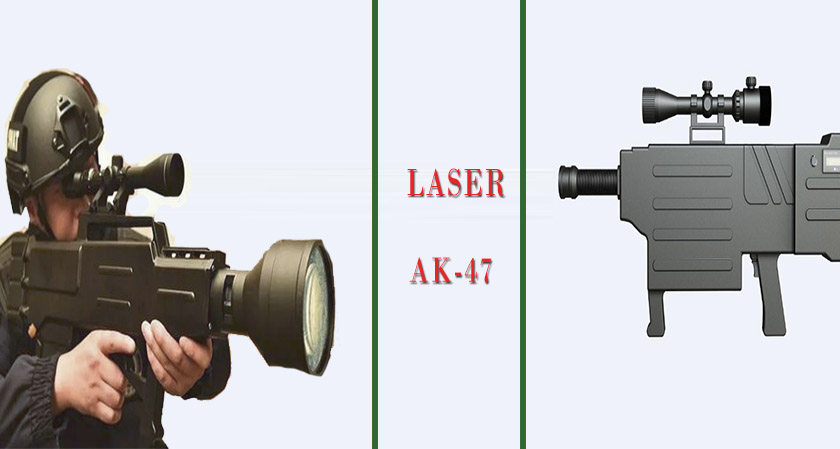 """This laser gun can set you on fire from half a mile away,"" claims a Chinese company"