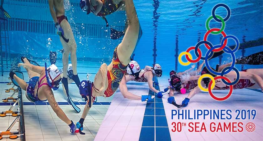 Malaysia is geared up to compete in underwater hockey at the SEA