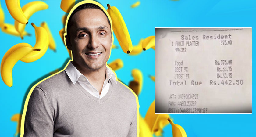 Quirky Promotion: Marketers Go Gaga Over Rahul Bose-JW Marriott Banana Affair