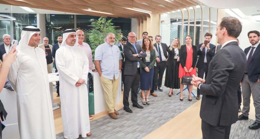 Mauro Romano, CEO and CO-Founder of ArabClicks inaugurated their new office at Business Bay, Dubai