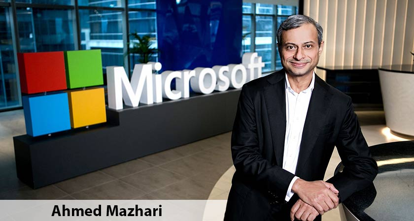 Ahmed Mazhari Appointed as the New President for Microsoft Asia