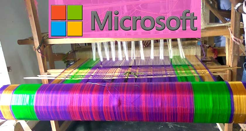 Microsoft Launches a New Online Platform for Indian Handloom Weavers