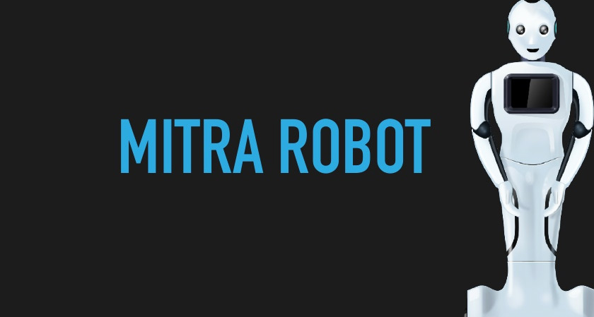 India's newly constructed robot Mitra take on the Covid patient care