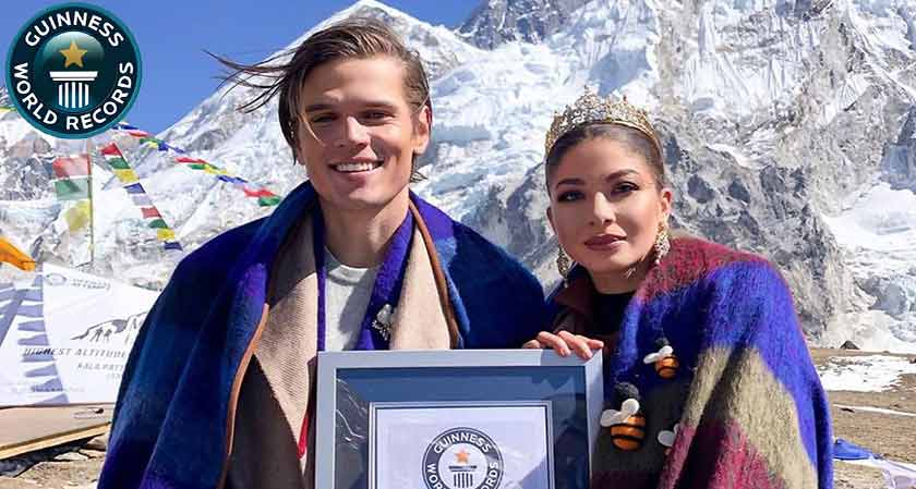 Nepal bags a Guinness World Record; holds the highest altitude fashion show