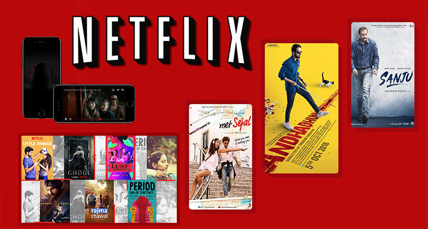 Netflix Plans to release more Indian Movies