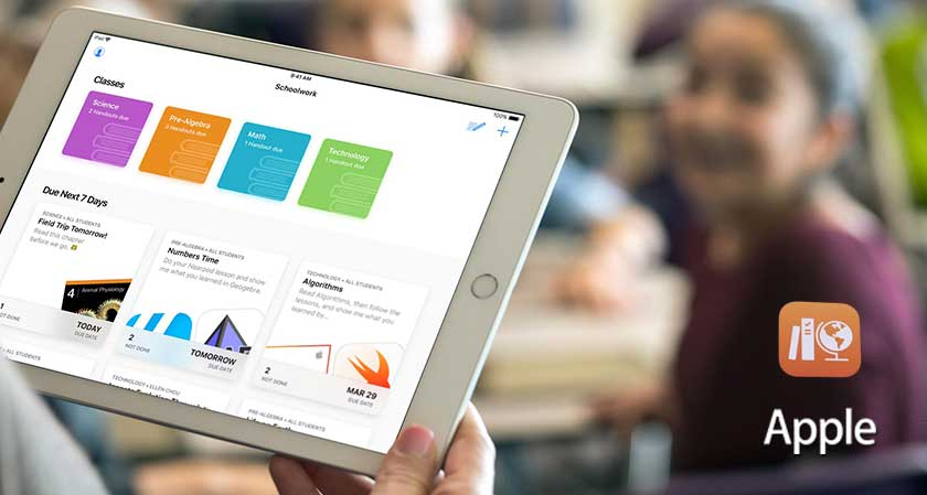 New Addition: Apple Launches Free Schoolwork App for Teachers