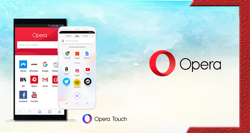Here Is the New Opera Mobile Browser