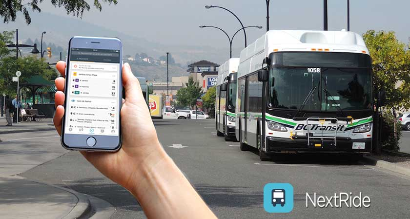 Improving Schedule Reliability: BC Transit Adopts NextRide Technology to Make Services Responsive, More Convenient