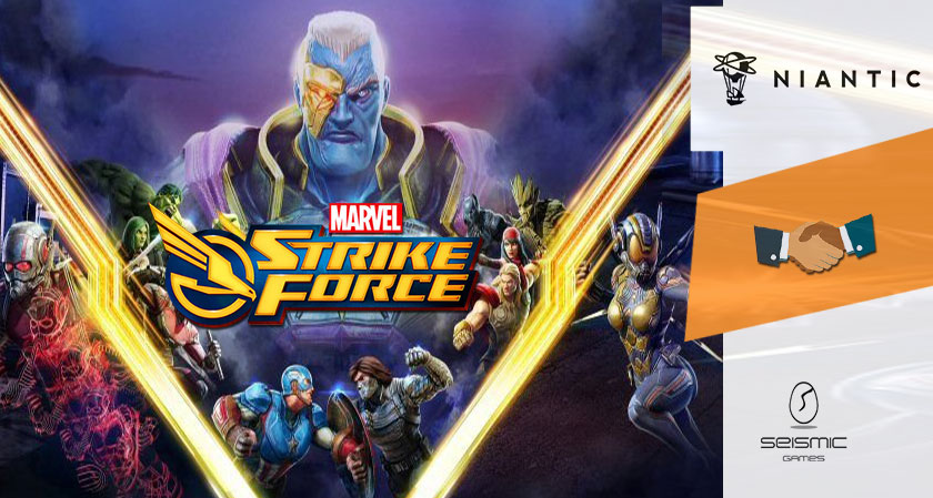 Yet another acquisition of Niantic! This time it is the creators of Marvel Strike Force