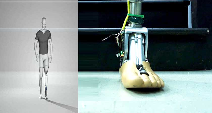 Now artificial limbs can adjust according to terrains!