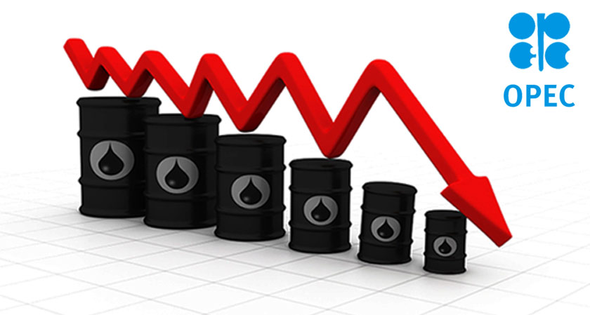 Oil prices falls down as OPEC exports increase