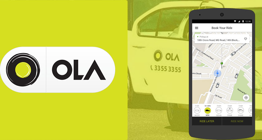 Ola Cabs Rolls Out Real-Time Ride Monitoring System