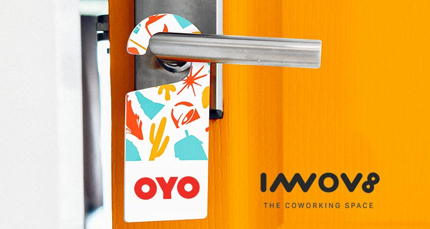 OYO Hotels & HomesTakes Over Innov8