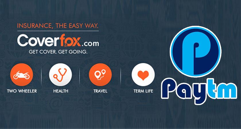 Paytm may acquire Mumbai-based Insurance company Coverfox
