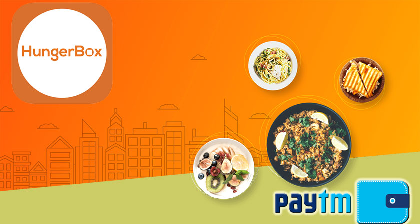 Paytm to lead a $15 million funding in HungerBox, a food catering business