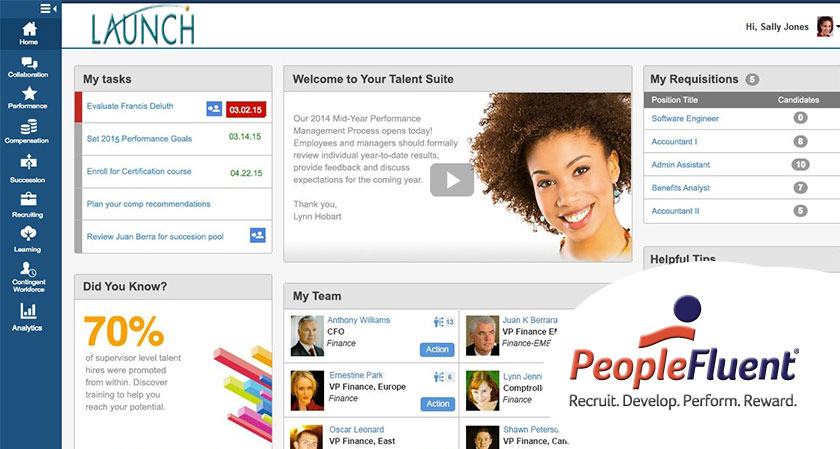 PeopleFluent introduces new Talent Management Software