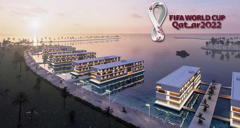 Qatar to build 16 floating hotels for the FIFA World cup 2022