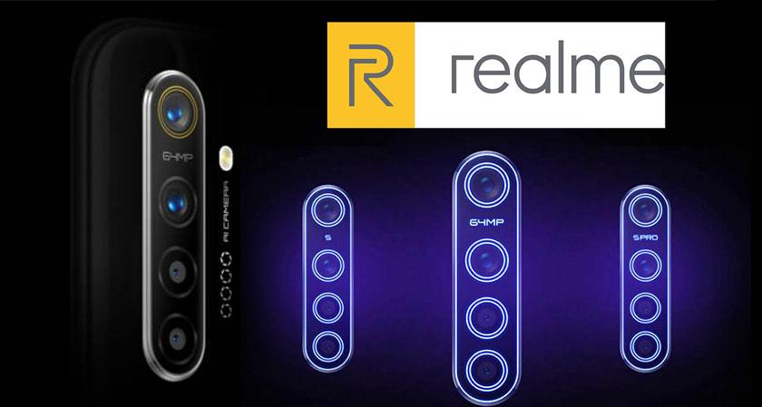 Realme to Launch 64MP Camera Smartphone in India before Diwali
